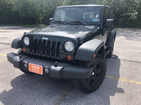 2007 Jeep Wrangler for sale at TKP Auto Sales in Eastlake OH