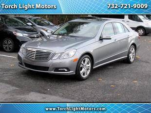2010 Mercedes-Benz E-Class for sale at Torch Light Motors in Parlin NJ