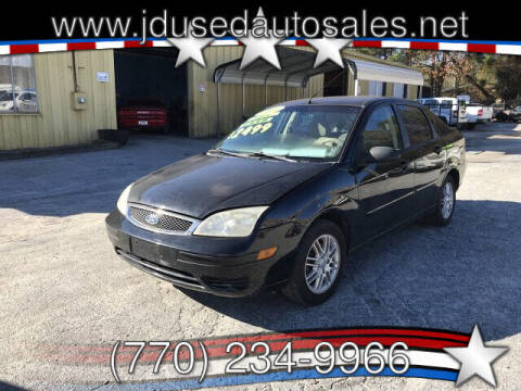 2005 Ford Focus for sale at J D USED AUTO SALES INC in Doraville GA