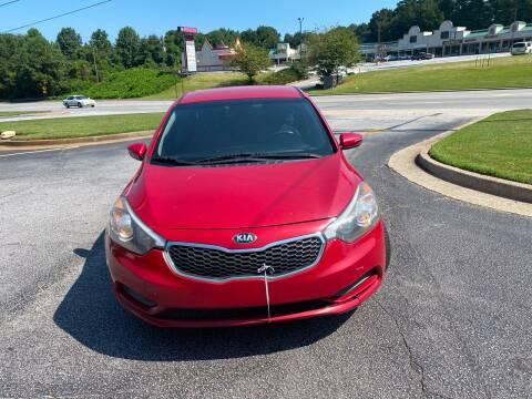2014 Kia Forte for sale at BRAVA AUTO BROKERS LLC in Clarkston GA