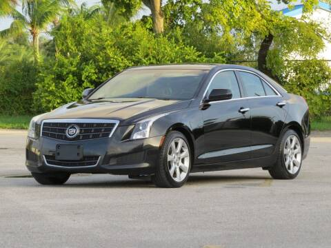 2013 Cadillac ATS for sale at DK Auto Sales in Hollywood FL