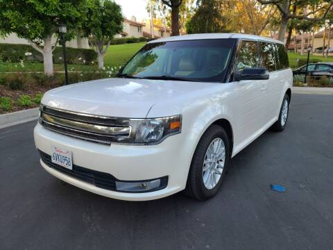 2013 Ford Flex for sale at E MOTORCARS in Fullerton CA