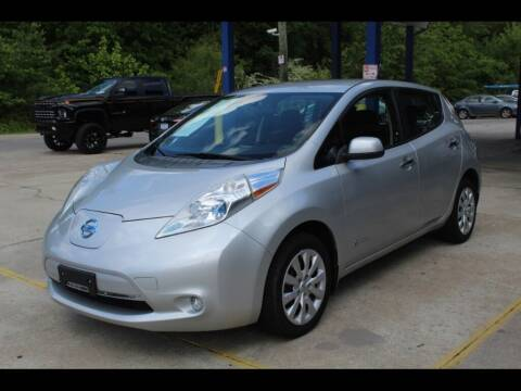 2013 Nissan LEAF for sale at Inline Auto Sales in Fuquay Varina NC