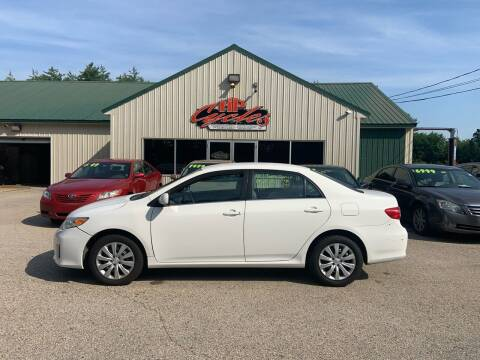 2013 Toyota Corolla for sale at HP AUTO SALES in Berwick ME