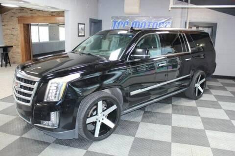 2015 Cadillac Escalade ESV for sale at TCC Motors in Farmington Hills MI