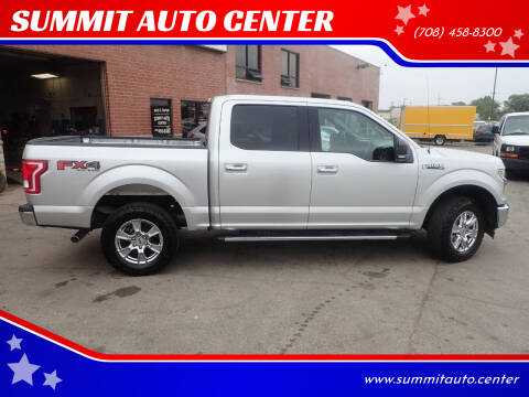 2017 Ford F-150 for sale at SUMMIT AUTO CENTER in Summit IL
