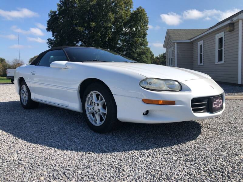 2002 Chevrolet Camaro for sale at Curtis Wright Motors in Maryville TN