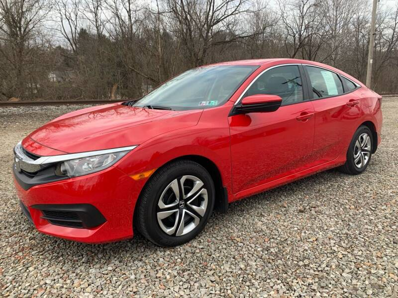 2018 Honda Civic for sale at Reds Garage Sales Service Inc in Bentleyville PA