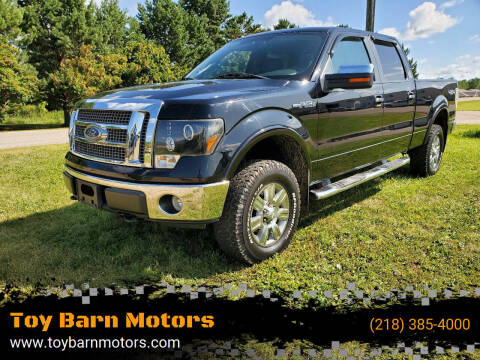 2009 Ford F-150 for sale at Toy Barn Motors in New York Mills MN