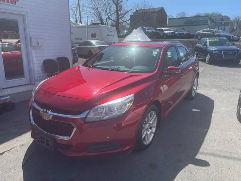 2014 Chevrolet Malibu for sale at Car VIP Auto Sales in Danbury CT