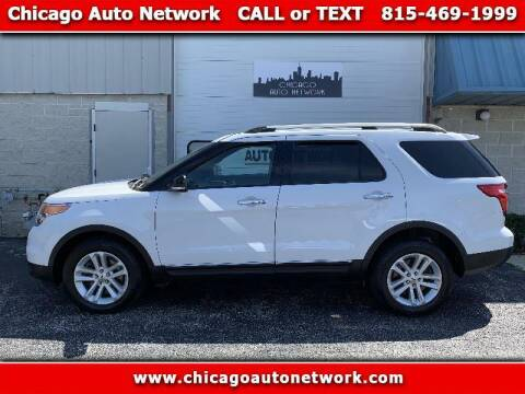 2014 Ford Explorer for sale at Chicago Auto Network in Mokena IL