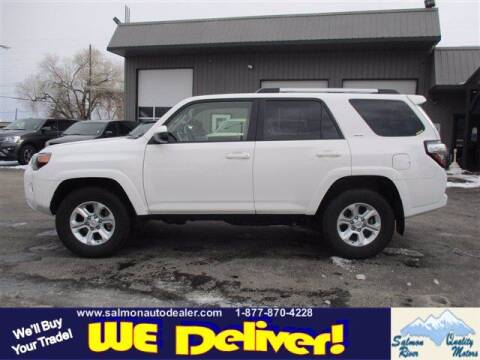 2019 Toyota 4Runner for sale at QUALITY MOTORS in Salmon ID