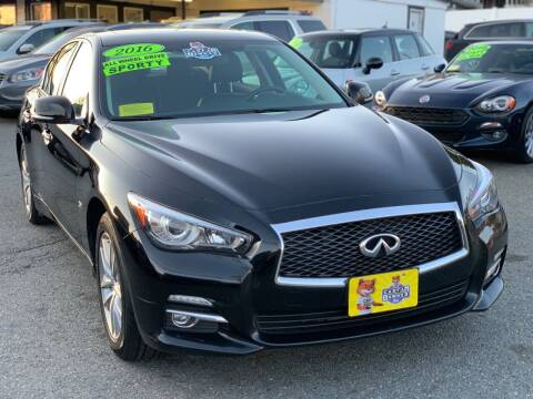 2016 Infiniti Q50 for sale at Milford Auto Mall in Milford MA