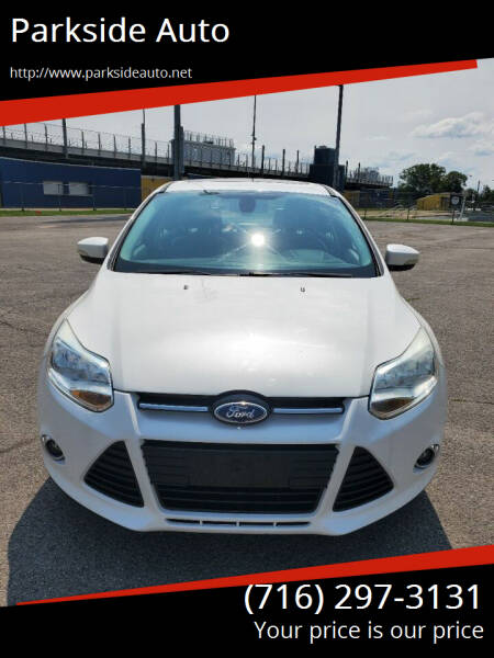 2012 Ford Focus for sale at Parkside Auto in Niagara Falls NY