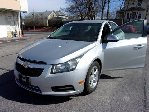 2012 Chevrolet Cruze for sale at MIRACLE AUTO SALES in Cranston RI
