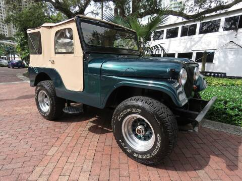 1964 Jeep CJ-5 for sale at Choice Auto in Fort Lauderdale FL