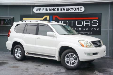 2007 Lexus GX 470 for sale at Meru Motors in Hollywood FL