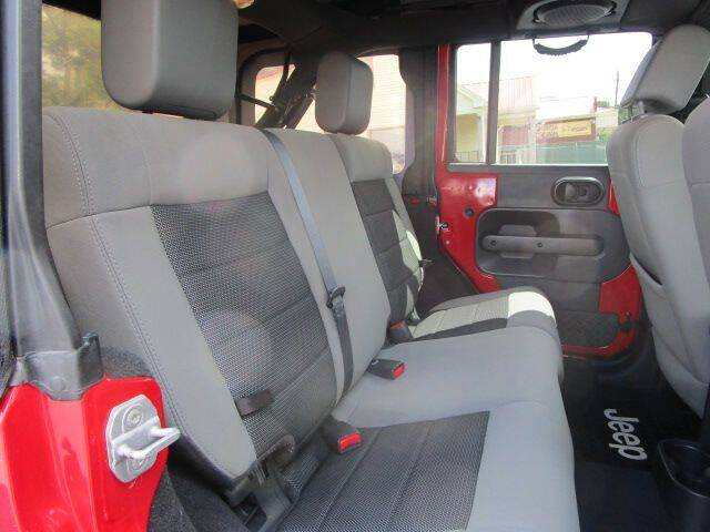 2010 Jeep Wrangler Unlimited 4x2 Sport 4dr SUV - Gainesville GA