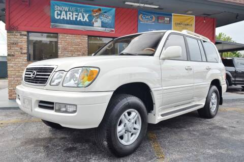 2000 Lexus LX 470 for sale at ALWAYSSOLD123 INC in North Miami Beach FL