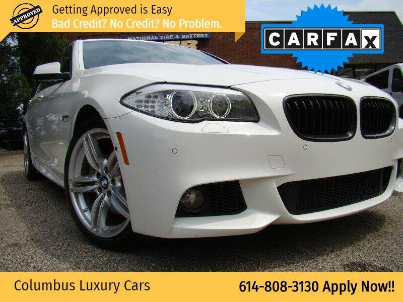 2013 BMW 5 Series for sale at Columbus Luxury Cars in Columbus OH