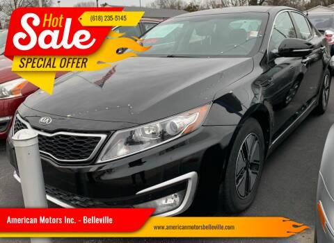 2012 Kia Optima Hybrid for sale at American Motors Inc. - Belleville in Belleville IL