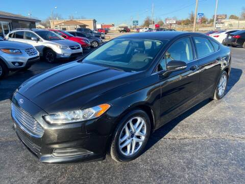 2014 Ford Fusion for sale at Kasterke Auto Mart Inc in Shawnee OK