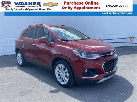 2018 Chevrolet Trax for sale at WALKER CHEVROLET in Franklin TN