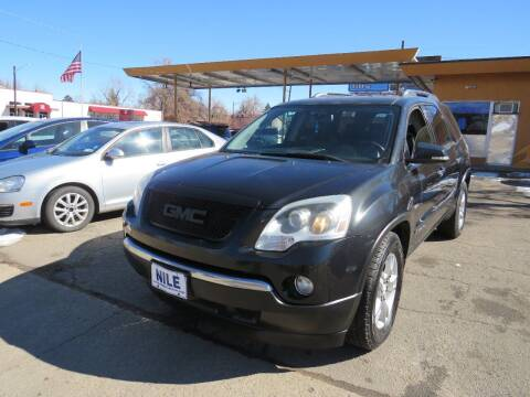 2009 GMC Acadia for sale at Nile Auto Sales in Denver CO