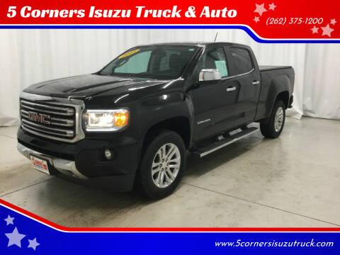 2015 GMC Canyon for sale at 5 Corners Isuzu Truck & Auto in Cedarburg WI