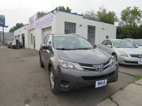 2013 Toyota RAV4 for sale at Nile Auto Sales in Denver CO