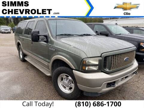 2003 Ford Excursion for sale at Aaron Adams @ Simms Chevrolet in Clio MI