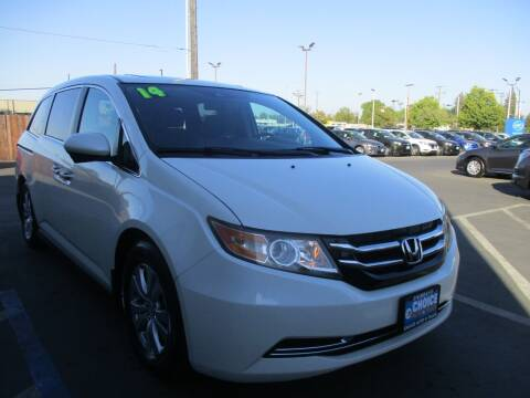 2014 Honda Odyssey for sale at Choice Auto & Truck in Sacramento CA