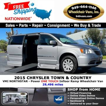 2015 Chrysler Town and Country for sale at Wheelchair Vans Inc - New and Used in Laguna Hills CA