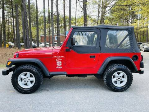 2000 Jeep Wrangler for sale at H&C Auto in Oilville VA