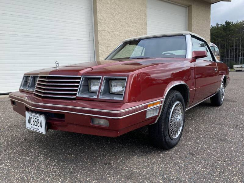 1984 Dodge 600 for sale at Route 65 Sales & Classics LLC - Classic Cars in Ham Lake MN