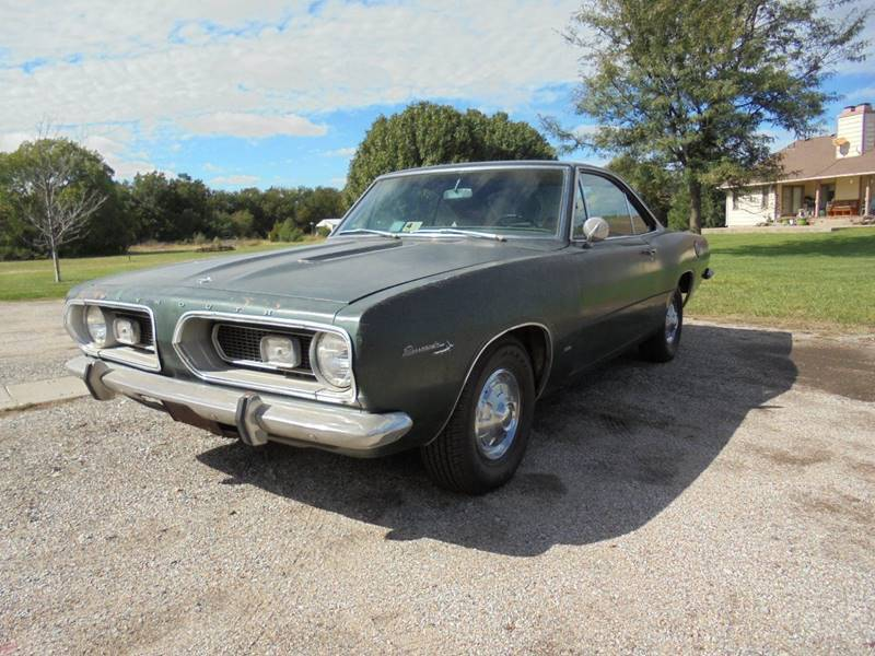 1967 Plymouth Barracuda for sale at D & P Sales LLC in Wichita KS