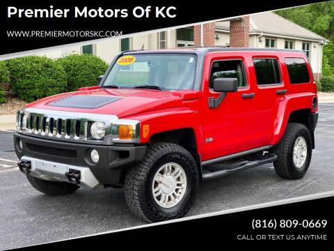 2008 HUMMER H3 for sale at Premier Motors of KC in Kansas City MO