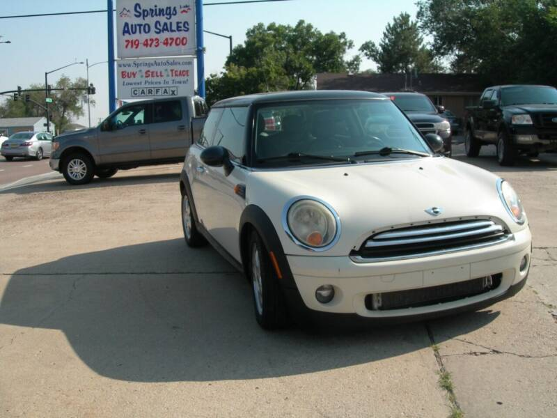 2009 MINI Cooper for sale at Springs Auto Sales in Colorado Springs CO