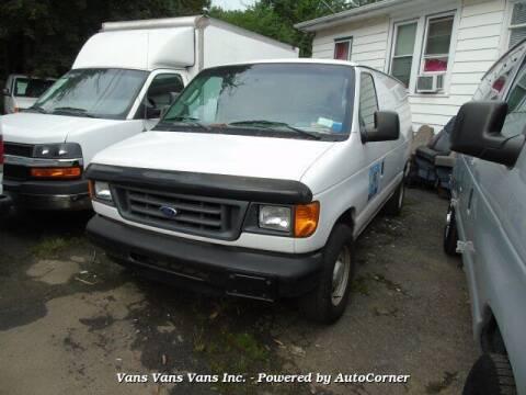 2004 Ford E-Series Cargo for sale at Vans Vans Vans INC in Blauvelt NY