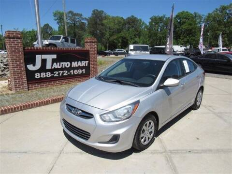 2014 Hyundai Accent for sale at J T Auto Group in Sanford NC