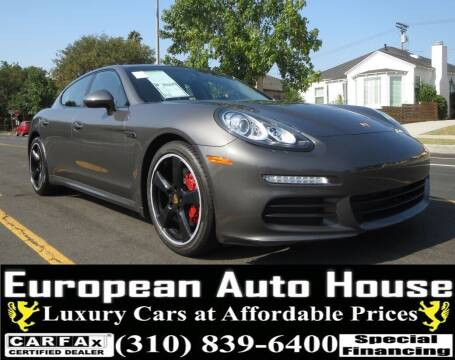 2016 Porsche Panamera for sale at European Auto House in Los Angeles CA