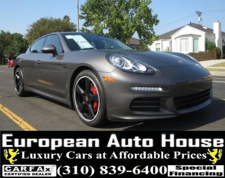 2016 Porsche Panamera for sale at European Auto House in Los Angeles CA