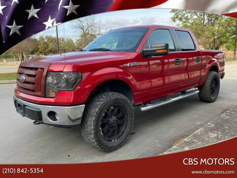 2010 Ford F-150 for sale at CBS MOTORS in San Antonio TX