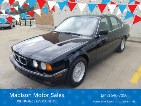 1994 BMW 5 Series for sale at Madison Motor Sales in Madison Heights MI