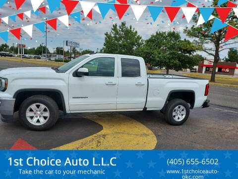2019 GMC Sierra 1500 Limited for sale at 1st Choice Auto L.L.C in Oklahoma City OK