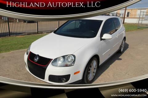 2007 Volkswagen GTI for sale at Highland Autoplex, LLC in Dallas TX
