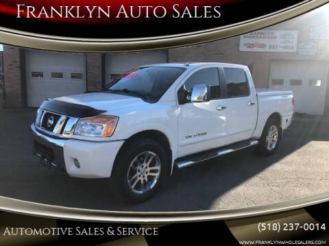 2011 Nissan Titan for sale at Franklyn Auto Sales in Cohoes NY