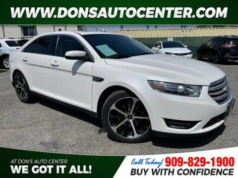 2015 Ford Taurus for sale at Dons Auto Center in Fontana CA