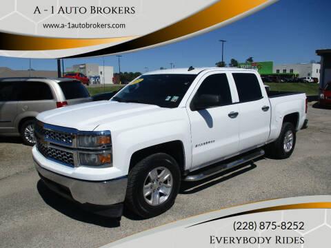 2014 Chevrolet Silverado 1500 for sale at A - 1 Auto Brokers in Ocean Springs MS