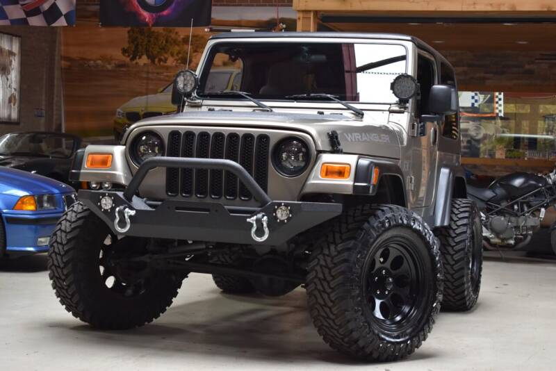 2003 Jeep Wrangler for sale at Chicago Cars US in Summit IL
